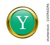 letter y capital letter classic ... | Shutterstock .eps vector #1143963296