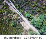 aerial photo of footpaths in... | Shutterstock . vector #1143964460