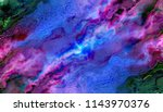 blue creative abstract grunge... | Shutterstock . vector #1143970376