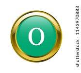 letter o lowercase letter... | Shutterstock .eps vector #1143970883