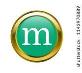 letter m lowercase letter... | Shutterstock .eps vector #1143970889