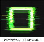 color glitch background.... | Shutterstock .eps vector #1143998363