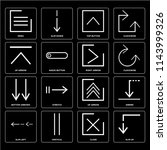 set of 16 icons such as slim up ...