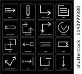 set of 16 icons such as slim...
