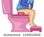 illustration of a kid toddler... | Shutterstock .eps vector #1144013033