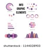 infographic elements  report...   Shutterstock .eps vector #1144028903
