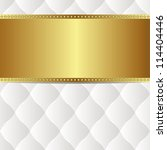 White Gold Background With Copy ...
