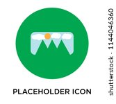 placeholder icon vector...