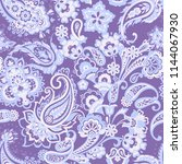 paisley seamless pattern....   Shutterstock . vector #1144067930