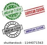 american cuisine seal prints...   Shutterstock .eps vector #1144071563