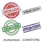 african cuisine seal prints...   Shutterstock .eps vector #1144071596