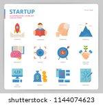 startup icon set | Shutterstock .eps vector #1144074623