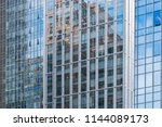 curtain wall image | Shutterstock . vector #1144089173
