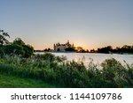 schwerin palace  or schwerin...   Shutterstock . vector #1144109786