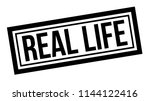 real life typographic stamp ... | Shutterstock . vector #1144122416