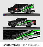 vehicle graphic kit. abstract...   Shutterstock .eps vector #1144130813