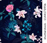 original trendy seamless... | Shutterstock .eps vector #1144173956