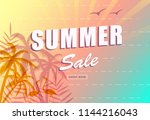 summer sale poster background....
