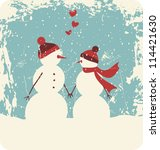 fondo,azul,botones,tarjeta,celebrar,navidad,frío,pareja,lindo,día,diciembre,elemento,febrero,gráficos,saludo