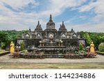 budhist temple brahma vihara...   Shutterstock . vector #1144234886