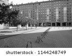 zaragoza  spain   august 14 ...   Shutterstock . vector #1144248749