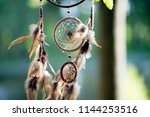 dreamcatcher  american native... | Shutterstock . vector #1144253516