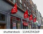 arnhem  netherlands 15.04.2018  ... | Shutterstock . vector #1144254269