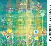 2013 Vector Calendar   Colorfu...