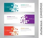 vector abstract design web... | Shutterstock .eps vector #1144335410