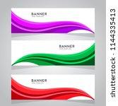 vector abstract design web... | Shutterstock .eps vector #1144335413