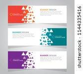 vector abstract design web... | Shutterstock .eps vector #1144335416