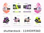 cover design template for...   Shutterstock .eps vector #1144349360