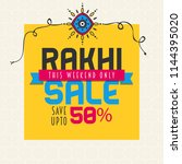 vector abstract for raksha...   Shutterstock .eps vector #1144395020