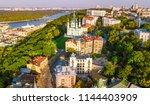 aerial top view of saint andrew'... | Shutterstock . vector #1144403909