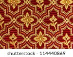 Red And Gold Vintage Style...