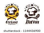cooking  cuisine logo. labels... | Shutterstock .eps vector #1144436900