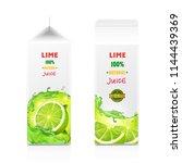 package for juice  paper... | Shutterstock .eps vector #1144439369