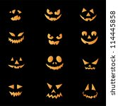 Scary Faces Of Halloween...