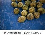 sugar apple or custard apple...   Shutterstock . vector #1144463939