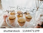 candy bar sweets | Shutterstock . vector #1144471199