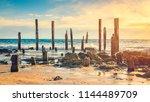 port willunga beach view at... | Shutterstock . vector #1144489709