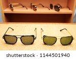 eyewear sun glasses photography  | Shutterstock . vector #1144501940