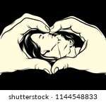 vector hand drawn illustration...   Shutterstock .eps vector #1144548833