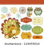 autumn,background,bird,celebration,clipart,cute,design,dinner,doodle,fall,family,feast,festival,floral,flower