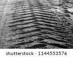 Footprint On Sand Road