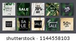 sale background template.... | Shutterstock .eps vector #1144558103