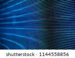 led screen close up | Shutterstock . vector #1144558856