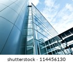 perspective and underside angle ... | Shutterstock . vector #114456130