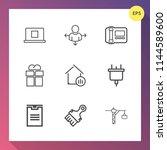 modern  simple vector icon set... | Shutterstock .eps vector #1144589600