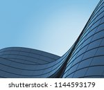 3d stimulate of high rise curve ... | Shutterstock . vector #1144593179